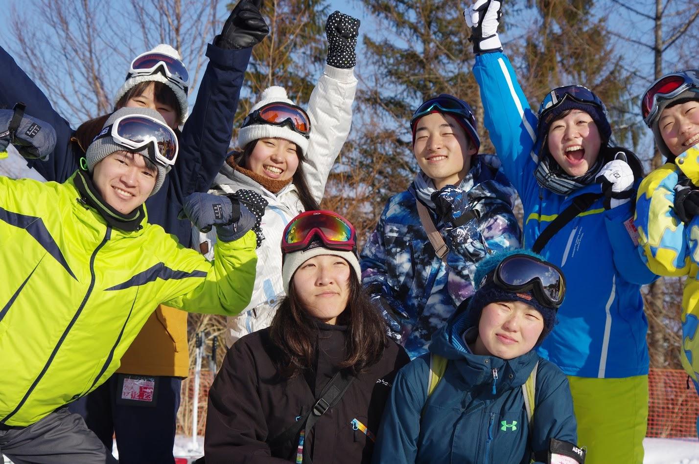 スキーキャンプ②